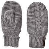 Mini A Ture Grey Melange Wool Celin Mittens