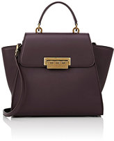 Zac Posen WOMEN'S EARTHA ICONIC SATCHEL-DARK PURPLE