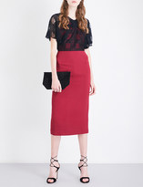 Roland Mouret Marrick lace and woven dress