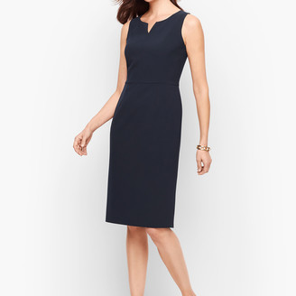 Talbots Stretch Crepe Sheath Dress