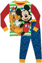 Disney Boys Mickey Mouse and Pluto Pajamas