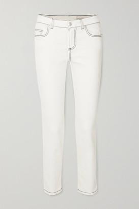 Alexander McQueen Skinny Jeans - White