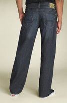 'Marco' Straight Leg Jeans (Rinse Cloud Wash)