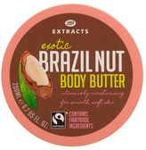 Boots Extracts refresh Boots Extracts [Brazil Nut Body Butter] 200ml Containing Fairtrade ingredients
