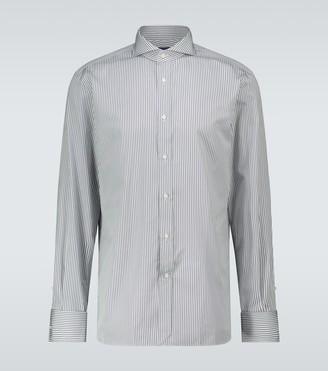 Ralph Lauren Purple Label Regular-fit striped shirt