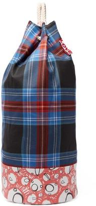 Charles Jeffrey Loverboy Screaming Suns Tartan Rope Duffle Bag - Womens - Blue Multi