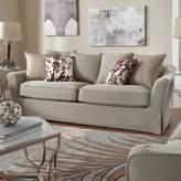 Homevance HomeVance Serenata Slip Covered Sofa