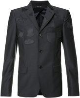 Alexander McQueen patched blazer jacket