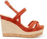 Jimmy Choo Suede wedge sandals
