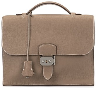 Hermes 2006 pre-owned Sac a Depeche 25 briefcase