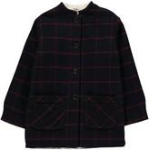 Bonton Jacob Lined Check Coat
