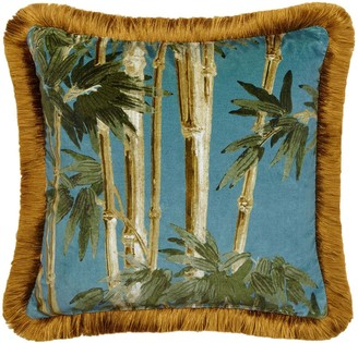 House of Hackney Medium Bambusa Cotton Velvet Pillow