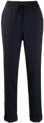 P.A.R.O.S.H. pinstripe cuffed trousers
