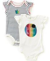 Baby Starters Baby Girls 3-12 Months Happy 2-Piece Set