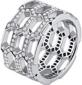 Bvlgari Serpenti Seduttori 18kt white-gold and diamond ring