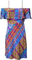 Matthew Williamson Tribal Geo Print Tiered Dress