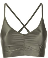 Filippa K Soft Sport glossy-effect sports bra