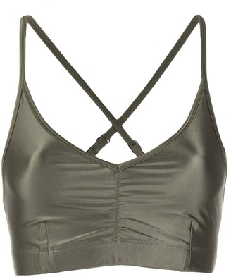 Filippa K Soft Sport Glossy-Effect Sports Bra