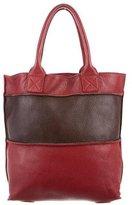 Bottega Veneta Bicolor Leather Tote