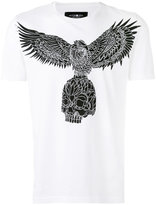 Hydrogen eagle print T-shirt - men - Cotton - M