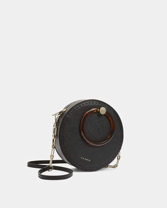 Ted Baker ACANTHA Medium leather circle cross body bag