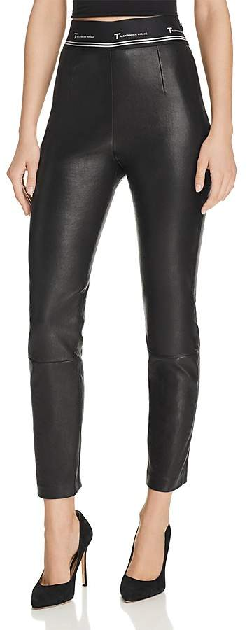 Alexander Wang Skinny Leather Pants