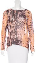 Rebecca Minkoff Silk Printed Blouse w/ Tags