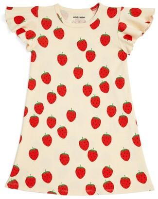 Mini Rodini Strawberry Wing Dress (1.5-11 Years)