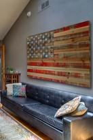 Parvez Taj American Dream Natural Pine Wood Wall Art