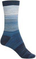Cabot and Sons Cabot & Sons Hombre Stripes Socks - Merino Wool, Crew (For Women)