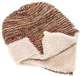 Peppercorn Kids Sherpa Earflap Hat - Marled Brown-12-24 Months