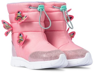 Sophia Webster Mini Riva snow boots