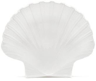 AERIN Shell Medium Earthenware Platter - Cream
