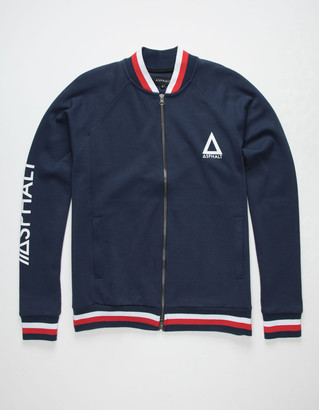 Asphalt Patriot Mens Track Jacket
