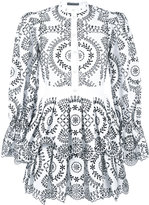 Alexander McQueen broderie anglaise poplin dress - women - Cotton - 40