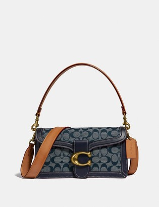 Coach Tabby Shoulder Bag 26 In Signature Chambray