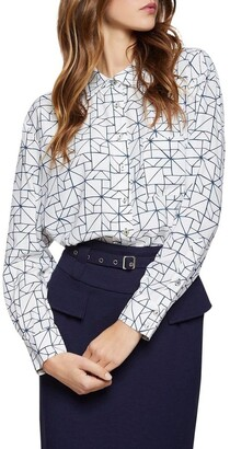 Oxford Lilly Marivale Printed Blouse