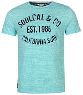 Soul Cal SoulCal AOP Flock T Shirt Mens