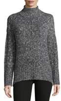 Jones New York Textured Mockneck Sweater