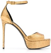 Balmain platform stiletto sandals