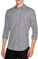 Theory Sylvain Amicable Gingham Slim Fit Button-Down Shirt