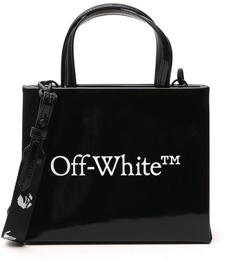 Off-White Box Top Handle Tote Bag