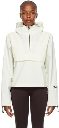 Reebok By Victoria Beckham Off-White Nylon Anorak Jacket