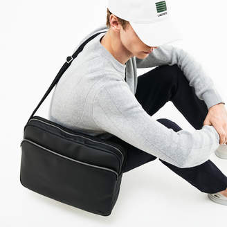 Lacoste Men's Classic Coated Canvas Computer Bag