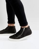 Religion Hi Maiden Sneakers In Black