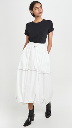 Aje Paperbark Cocoon Skirt