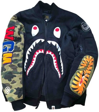 A Bathing Ape Black Cotton Jackets