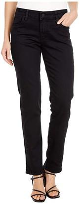 KUT from the Kloth Catherine Boyfriend Jeans in Black (Black) Women's Jeans