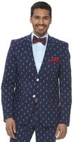 WD.NY Men's Slim-Fit Anchor Suit Jacket