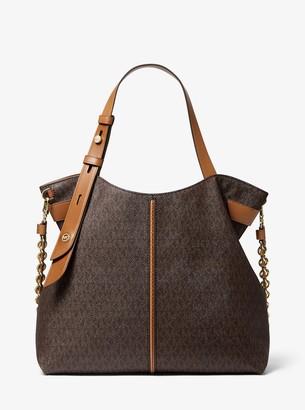 MICHAEL Michael Kors Downtown Astor Large Logo Shoulder Bag